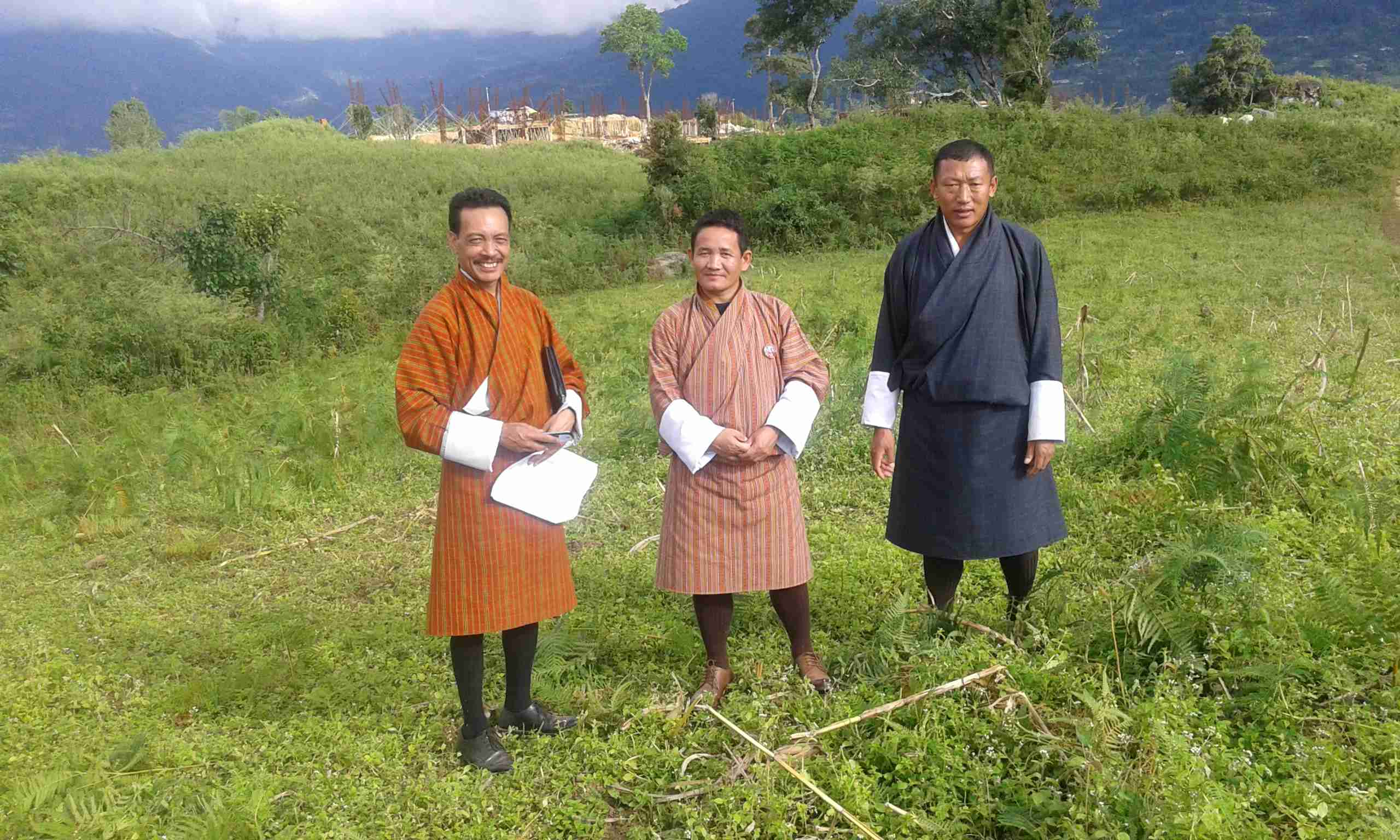 In the process of acquirng addiitonal four acre of land from Damphu CS_
