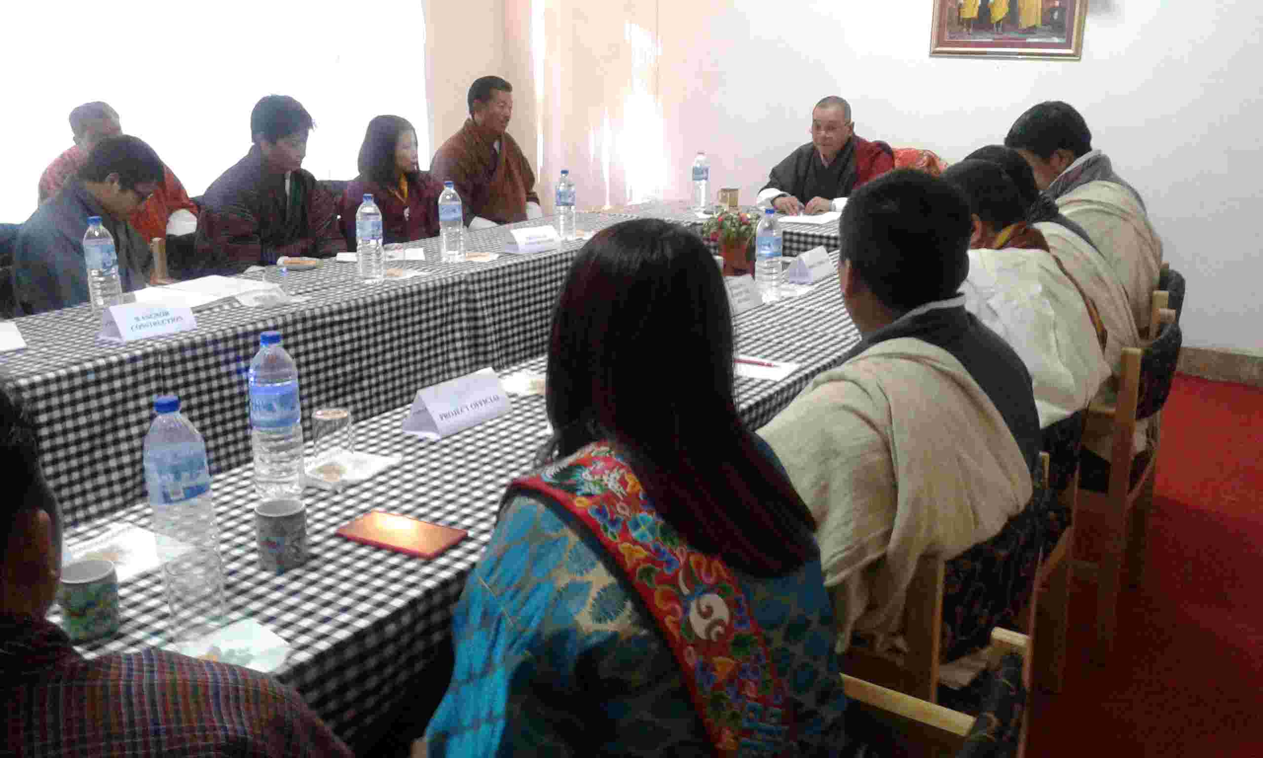 first Project Steering Commmittee meeting held on 31.12.2014_